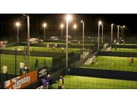 Casual football games at Goals Star City, everybody welcome!