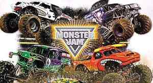 2x Adult Tickets to the Monster Jam  ANZ Stadium New Lambton Newcastle Area Preview