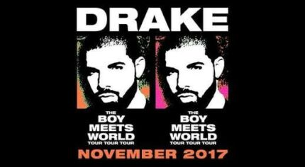 3 X Premium GA DRAKE 19th NOV $150 each!!!!