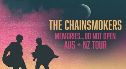 Chainsmokers General Admission Ticketd