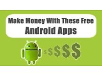 Earn from your phone. Only for Android
