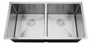 LARGE undermount  Radius Sinks --18 g -- BRAND NEW