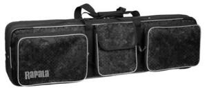 New Rapala Ice Fishing Rod Bag, Holds up to 10 rods