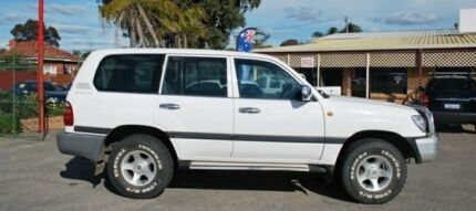 2000 Toyota Landcruiser FZJ105R GXL White 4 Speed Automatic Wagon Bellevue Swan Area Preview