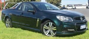 2013 Holden Ute VF SV6 Green 6 Speed Automatic Utility East Rockingham Rockingham Area Preview