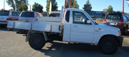 2012 Mahindra Pik-Up S5 MY11 White 5 Speed Manual Cab Chassis