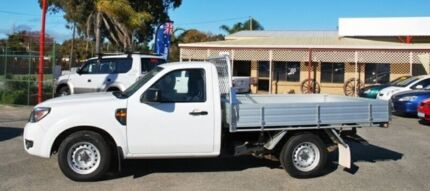 2009 Ford Ranger PJ XL White 5 Speed Manual Cab Chassis Bellevue Swan Area Preview