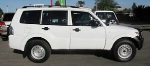 2012 Mitsubishi Pajero NW MY12 GL White 5 Speed Sports Automatic Wagon Bellevue Swan Area Preview