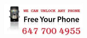 UNLOCK ANY SAMSUNG, LG, IPHONE, HTC,BLACKBERRY, MOTOROLA, ZTE & MORE,REMOTE USB UNLOCK, AND MANY MORE Mississauga / Peel Region Toronto (GTA) Preview