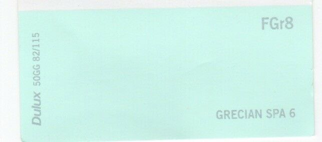 Paint Dulux Matt Emulsion Grecian Spa 6 Very Light Greeny Blue