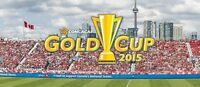 JULY 14 - **8TH ROW CENTRE FIELD** GOLD CUP TICKETS - BMO FIELD