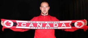 Canada Soccer Supporter Scarf - Red - Authentic