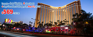 Las Vegas Vacation Rentals flight included for $761
