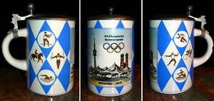 Original Munich Olympic Beer Stein