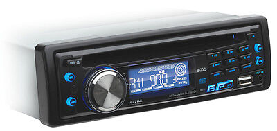 Boss 637UA In-Dash Car Receiver/Radio/CD/MP3/AM/USB/AUX Player Detachable Face on Rummage