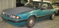 1988 Ford Mustang Coupe (2 door) milage 170, new headlights