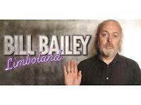 4 Bill Bailey Tickets - Eventim Apollo, London - Friday 26th August 8pm - Stalls Row U