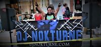DJ Nokturne available for public, private, and corporate events.