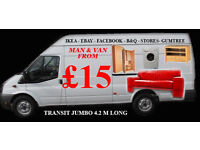 VAN AND MAN GLASGOW FROM £15