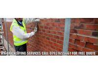 Jpn b r i c k l a y i n g services call for F R E E no obligation quotation . 07931655661