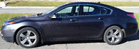 2012 Acura TL SH-AWD w/tech pack, very rare manual 6 speed