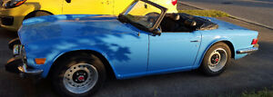 1975 Triumph TR6 with overdrive