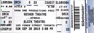 Best Toronto Theatre tickets at - 80% off - for Sep.30