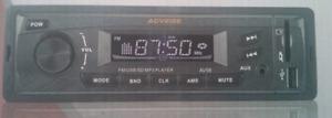 radio auto fm carte sd aux et usb neuf universel 12volt
