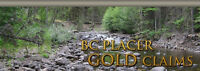 BC Placer Claims Gold mining club - FALL SALE 25% OFF