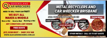 Wanted: Cash for Scrap Cars and Scrap Metals