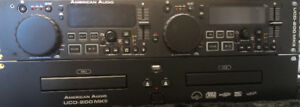 American audio ucd-200MKii Dual CD Player with 2 x USB - NEW!