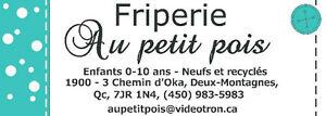 **FRIPERIE AU PETIT POIS* West Island Greater Montréal image 2