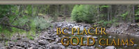 BC Placer Claims Gold mining club - Great Deal