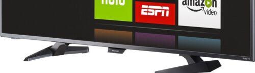 """Sharp 32"""" Class (31.5"""" Diag.) LED 1080p Smart HDTV Roku TV Black LC-32LB481U"""
