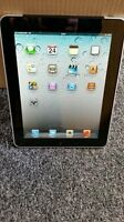 APPLE iPAD WITH 32 GB MEMORY, THE CHARGER AND CASE