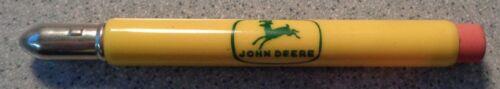 Vintage JOHN DEERE ADVERTISING BULLET PENCIL NORTH WASHINGTON IMPLEMENT LYNDEN