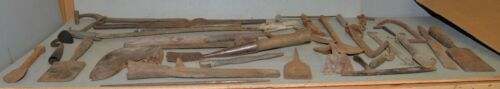Collectible whaling primitive tools 40 lbs blacksmith forged early maritime lot