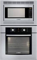 BNIB Bosch Stainless Steel OVEN AND MICROWAVE