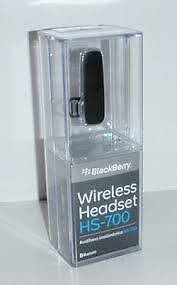 BlackBerry HS-700 Wireless Headset Oakville / Halton Region Toronto (GTA) image 1