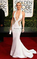 AMAZING WHITE LONG EVENING DRESS!!!! BRAND NEW