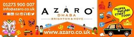 Waiter/Waitress/Front of House/Bar Staff/Host Brighton and Hove No1 Indian Restaurant