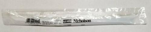 Nicholson 41102 7 1/2 in Silversmiths Rifflers Riffler File Style 10-Cut No. 2