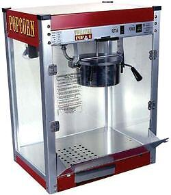 Commercial 16 Oz Popcorn Machine Theater Popper Maker Paragon Tp-16 1116110