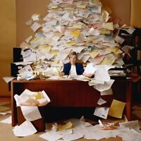 Overwhelmed with paperwork? Fat Cat Bookkeeping can help!