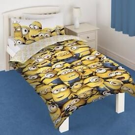 Despicable Me single duvet cover with sheet and pillow case (BRAND NEW)