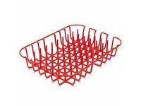 Red drying rack