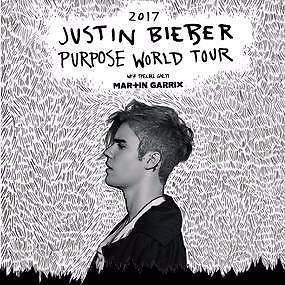 SELLING 2x A Reserve SC5 Sydney Justin Bieber World Tour Tickets Sydney City Inner Sydney Preview