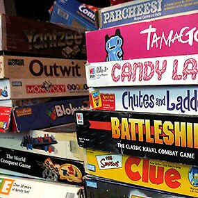 Huge Selection of Second hand board games, chess,dvd board games
