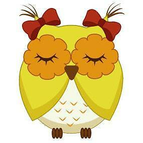 Cute yellow owl Wall Sticker - Totally Movable Sydney City Inner Sydney Preview