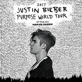 Justin Bieber *** 2 x A Reserve Grandstand Tickets - Sydney*** Dee Why Manly Area Preview